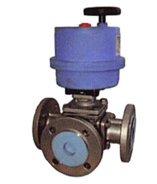 Stainless Steel 3 Way Ball Valve Electric Actuator