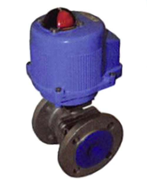 Stainless Steel Ball Valve - Electric Actuator