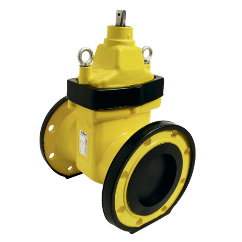 Ductile iron gate valve bsi v gas approved type a